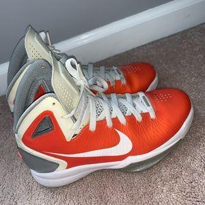 Men's 2012 orange Nike hyperdrunk
